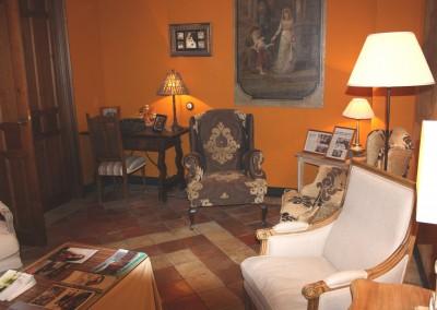 Salón naranja